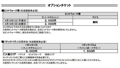 2013鈴鹿2&4チケット(2)