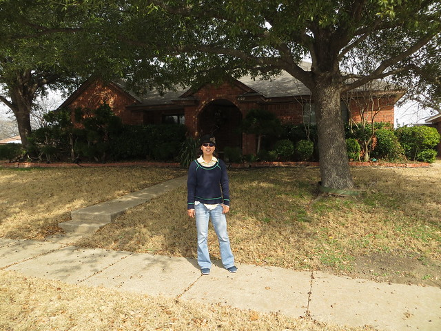 PIC: Parent's house in Garland, Texas
