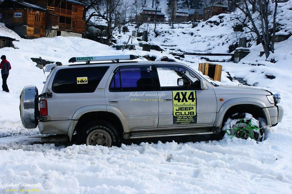 Muzaffarabad Jeep Club Neelum Snow Cross - 8471993098 321e026720 b