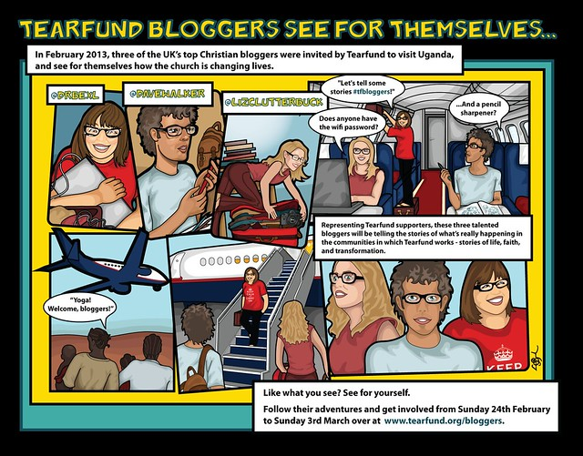 Tearfund bloggers-cartoon
