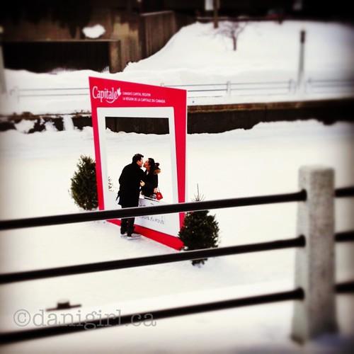 情人节Winterlude吻