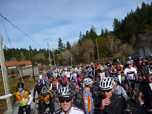 Some of the 300 (?) riders