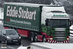 Scania R440 6x2 Tractor - PE12 LKF - Ellena - Eddie Stobart - M1 J10 Luton - Steven Gray - IMG_2014