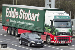 Volvo FH 6x2 Tractor - PX07 EZV - Demi Jai - Eddie Stobart - M1 J10 Luton - Steven Gray - IMG_1605