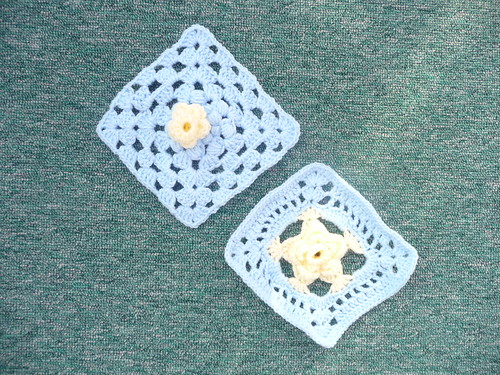 Daffodil Squares for 'Marie Curie Cancer Care' Challenge.