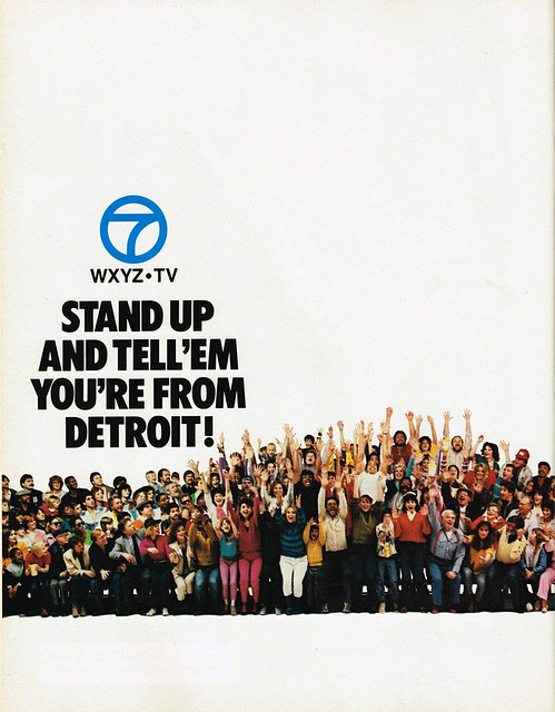 Vintage Ad #2,170: Stand Up And Tell 'Em You're From Detroit