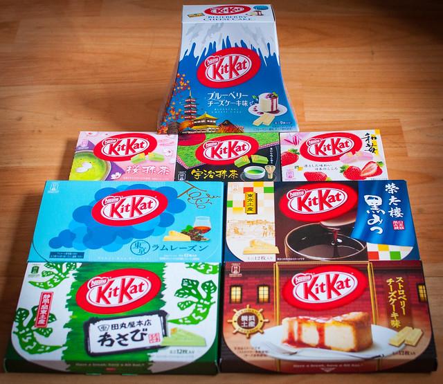 Kit-Kat Japanese Family