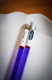 Neon Genesis Evangelion - EVA01 chopsticks