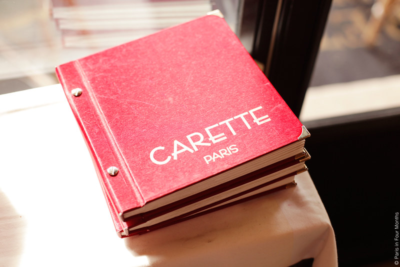 Carette by Carin Olsson (Paris in Four Months)