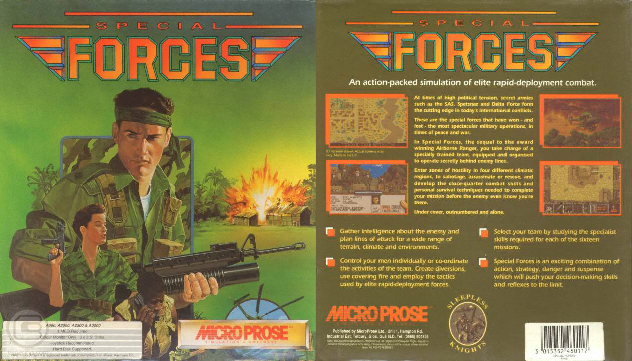 The Original 'Special Forces' Game