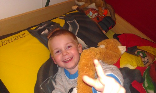 Goodnight from Arran and Oscar the monkey by xxx zos xxx