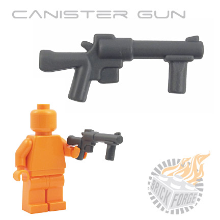 Canister Gun - Dark Blueish Gray