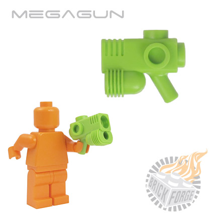 MegaGun - Lime Green