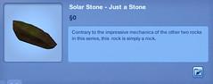 Solar Stone - Just a Stone