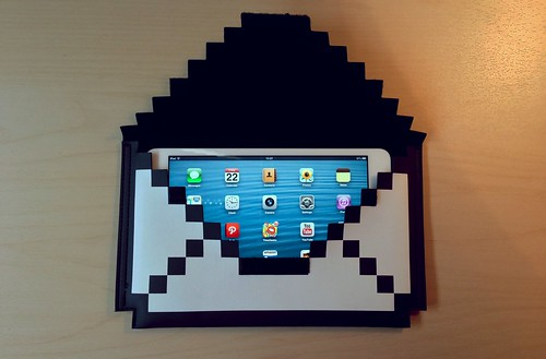 8-bit sleeve for iPad mini