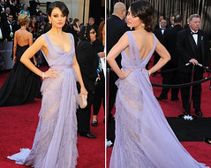 mila_kunis_oscar_2011_ Elie Saab Couture