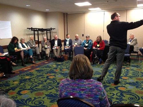 """<p>Convention participants broke into groups to discuss the <a href=""""http://diolex.org/blog/convention/five-marks-of-mission-workshops/"""" rel=""""nofollow"""">Five Marks of Mission</a>.</p>"""
