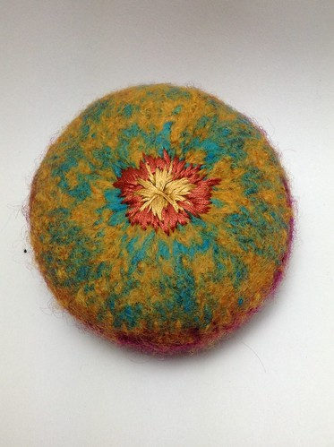 Felt embroidery 1