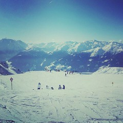 At the top of Zell am Ziller.