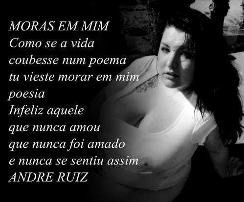 MORAS EM MIM by amigos do poeta