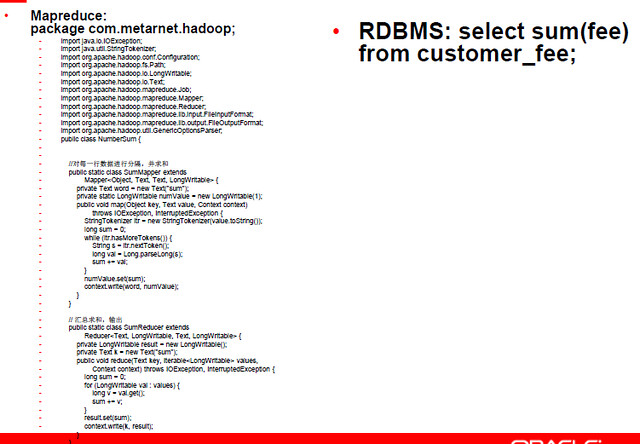 hadoop vs rdbms dev1