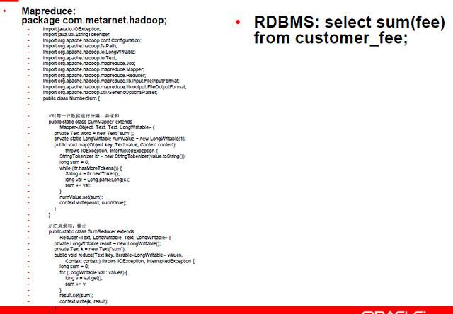 hadoop vs rdbms dev1