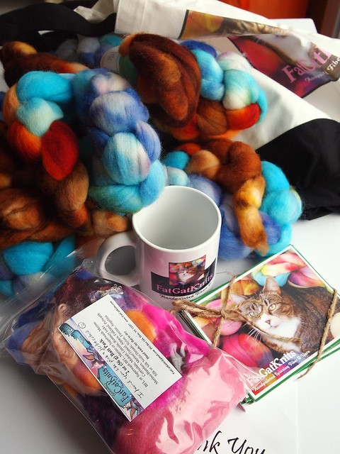 FatCatKnits Studio Fund Donation swag