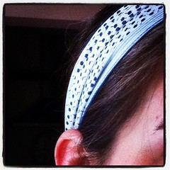 Love my hairband.