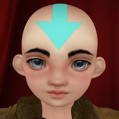 BB Doll Head - Aang