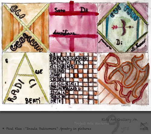 "9 yrs) _4* Paul Klee: ""Insula Dulcamara"" /poetry in pictures by SeRGioSVoX"