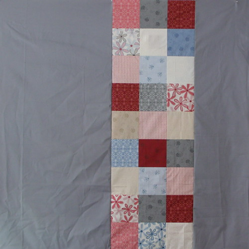 Back of Project Linus quilt
