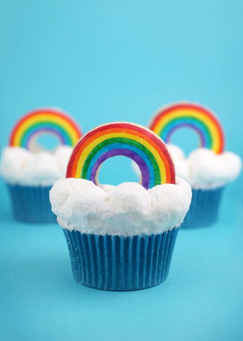 Rainbow Cupcakes | Flickr - Photo Sharing!