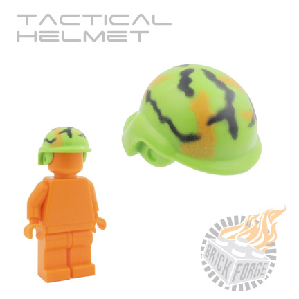 Tactical Helmet - Lime Green (camouflage)