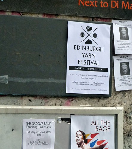 Edinburgh Yarn Festival Poster