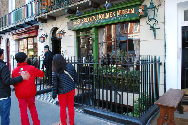 221b baker street london nw1 6xe england