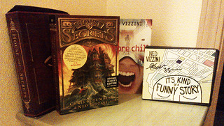Ned Vizzini Prize Pack, March 2013