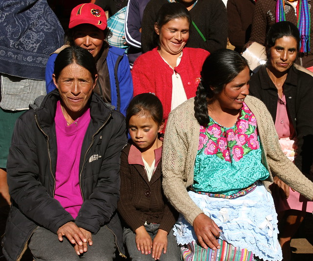 Visit with women community members in Chiantla, Huehuetenango