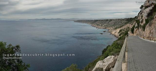 Bajando a Cala Blava (Lluchmajor, Mallorca)