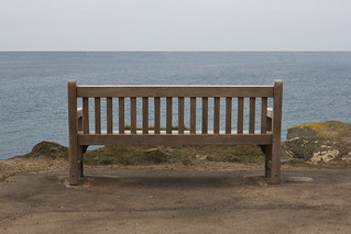Vacant Bench - St. Ives