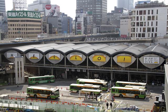 東急東横線 渋谷駅