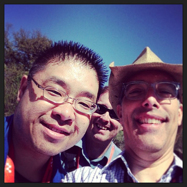 With @mayhematusios Calvin Lee at #Allhat