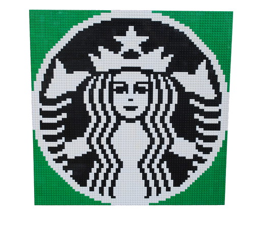 Starbucks Lady Mosaic