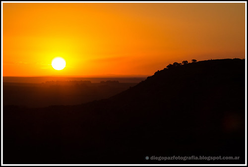 caída del sol by diegol72