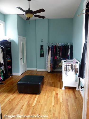 Turn a spare room into an organized closet dawn nicole