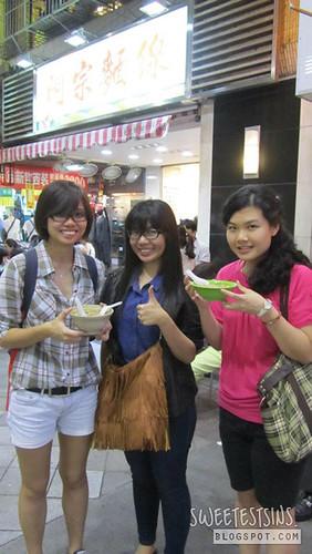 taiwan taipei trip may 2012 day 1 - 17 ximending ah zhong mian xian chuan me shin