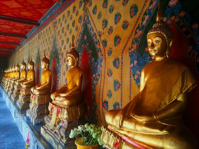 Bouddhas du Wat Arun - Bangkok