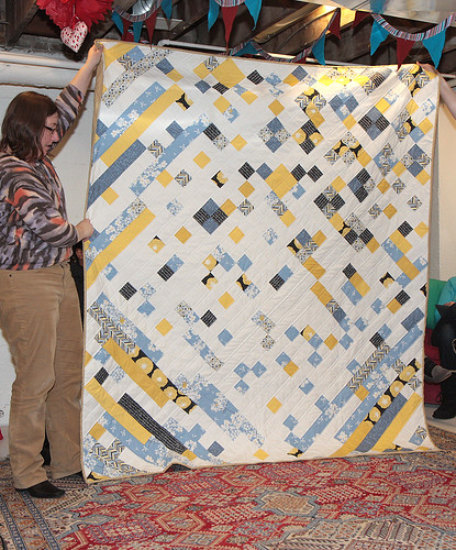 Chris's Madrona Road Challenge quilt