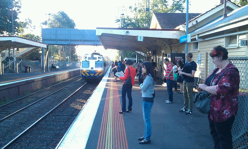 Good morning Murrumbeena Station - you haven't changed a bit. Neither have you, 278M.