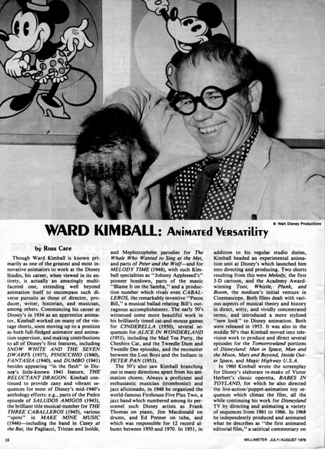 Millimeter Magazine 1976 july/aug JOHN WAYNE IN DON SIEGEL'S