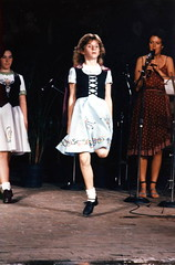 Irish step dance at the Florida Folk Festival: White Springs, Florida